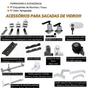 ACESSÓRIOS PARA FECHAMENTO DE SACADA