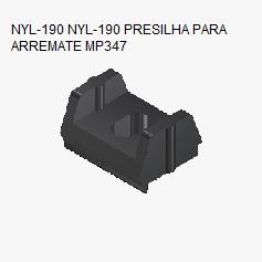 NYL-190 PRESILHA PARA ARREMATE MP347