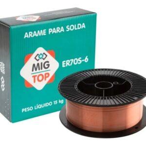 Arame Mig Solda Top 0,8 Mm 15 Kg